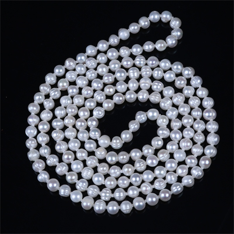 Wholesale Sri Lankan New Design Handmade Wedding Pearl Necklace