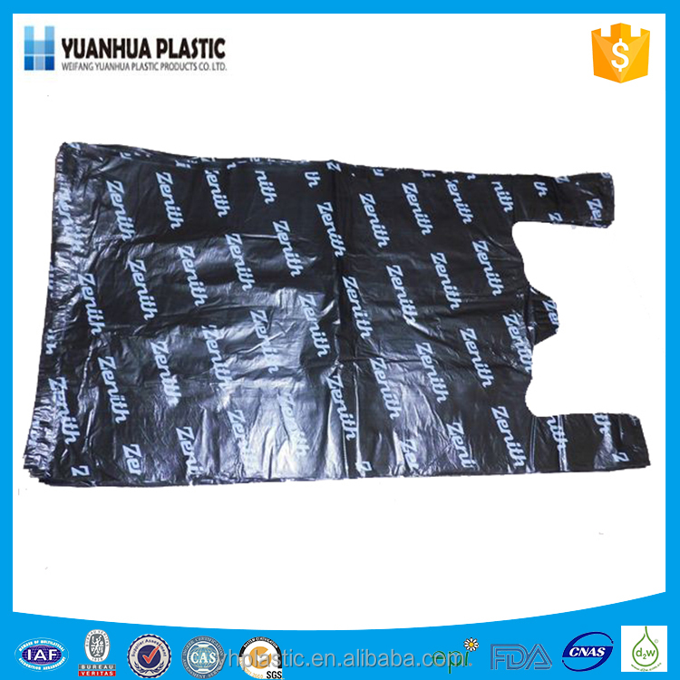 Hot Sale Best Quality Red Vest Carrier Bags/Polythene Shopping Bag