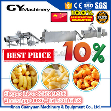Sweet or salty puff corn snacks food extruder equipment