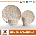 printing machine wholesale new design ceramic dinner set