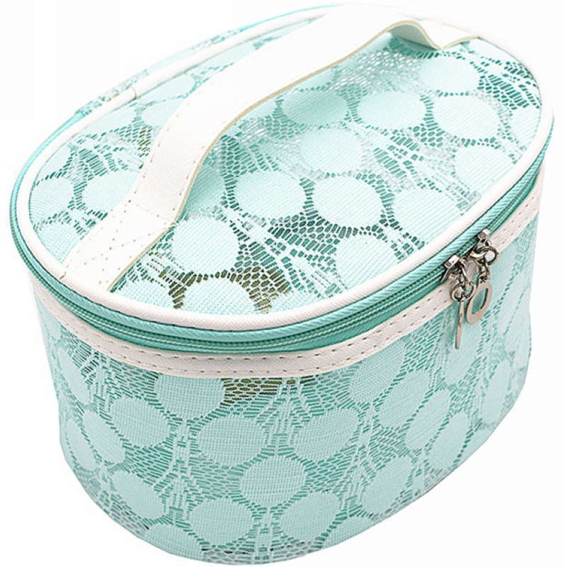 Professional Large toiletry dressing lace case bag
