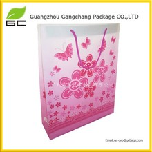 Top quality customized sunflower paper gift bag