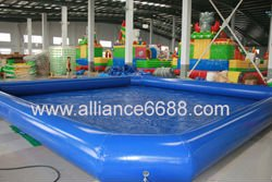inflatable pool 10x10x0.55m pond for cartoon boat