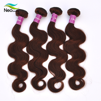 High Quality Cheap Wholesale Human Hair Brazilian dark golden brown hair color