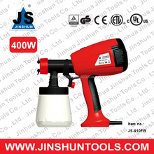 JS 400w Electric Power Mini Hand Held Paint Painting Spraying Sprayer Machine Tools HVLP Spray Gun , JS-910FB