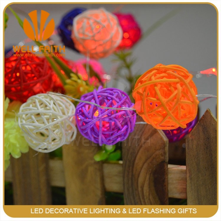 LED cherry blossom hanging outdoor ball light outdoor