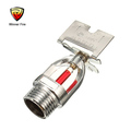 Fire Control Equipment Automatic Glass Bulb Sidewall Fire Sprinkler