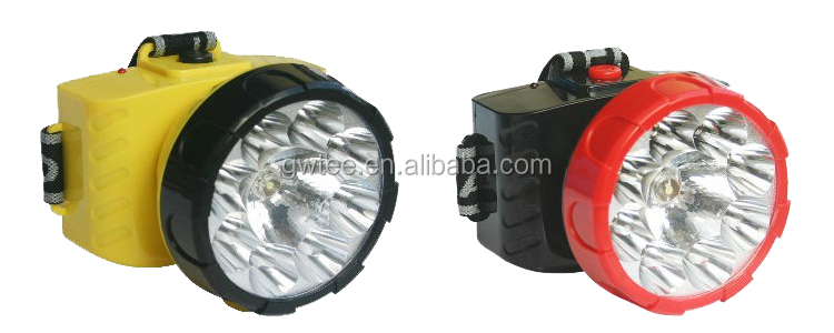 LED rechargeable work light superbright mining miners cap lamp