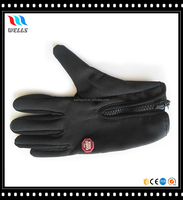 Textured Palm Five Finger Neoprene Dive Gloves with Zipper