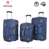 2 Wheel Softside Duffle Trolley Bags