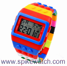 Unique Export youtube Sex Video Watch Colorful Rainbow Silicon Watch