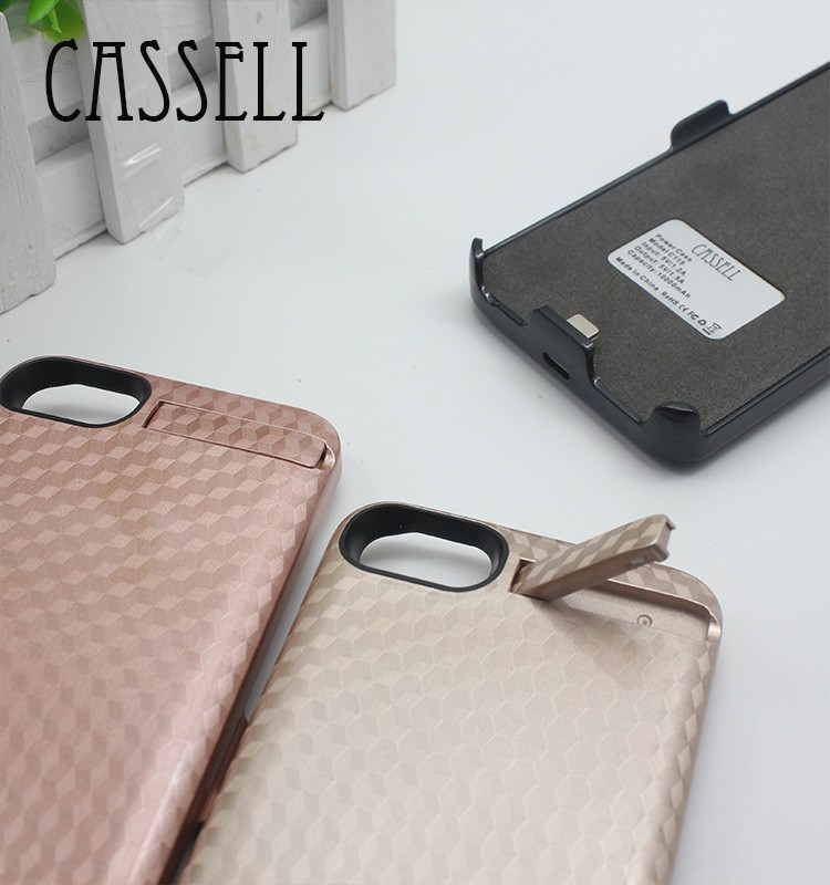 CASSELL wireless power case 10000mah portable power bank case wholesale price rechargeable battery for iphone 6 &iphone7