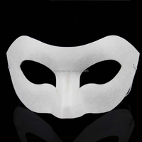 New Design cheap masquerade party DIY graffiti face mask bulk