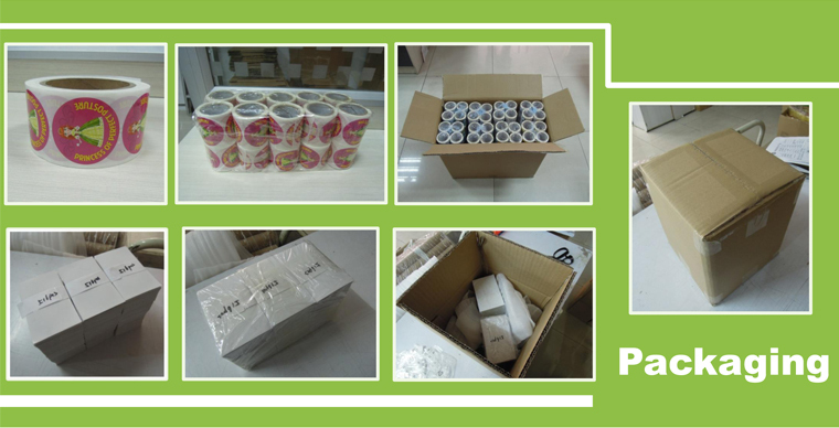 Custom Sticker Paper Printing Chocolate Private Label Manufacturer