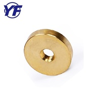 Custom made brass screw washer , cheap cnc machining part , industrial use flat gasket