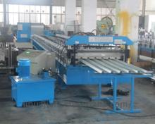 Hot-selling 312 roof tile ridge capping steel roller forming machine