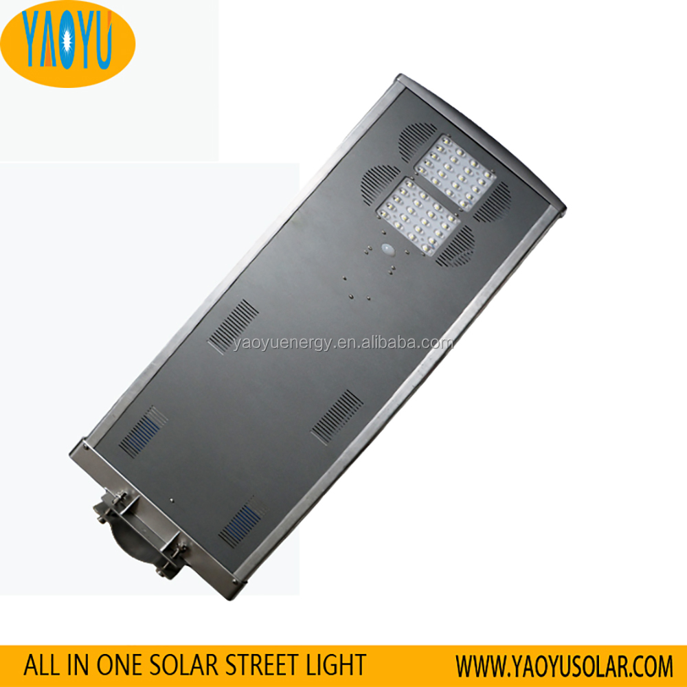 40W Govermmental project solar powered street light proposal
