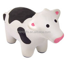Custom Imprinting Stress Ball COW stress ball anti-stress PU COW foam squeeze reliever ball