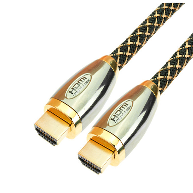 Double Blaid Gold Plug Male to Male HDMI Cable