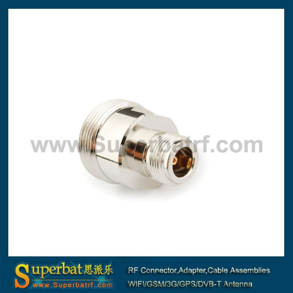 7/16 din adapter female to N type female connector