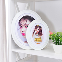 Classic wooden 6x8 photo picture frame cheap bulk / Happy birthday photo picture frames for lovers