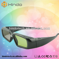 Newest and cheapest Active Shutter 3D DLP Link projector 3D glass eyewear for Optama/Acer/Sharp/Dell