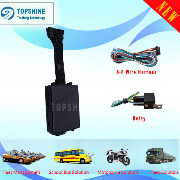 Car GSM GPS Tracker - Quad Band Vehicle GPS Tracker, Motorbike Suitable As Well