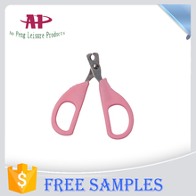 Colored Dog Nail Scissors Wide Handle Pet Nail Clippers Dog Cleaning Product