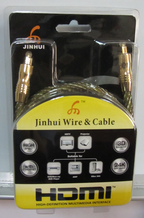 JINHUI Toslink to Toslink High quality audio cable metal assembling Optical Digital fiber cable