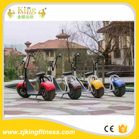 Adult electric motorcycle big wheel scooter wholesale