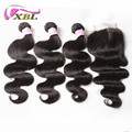 Good Feedback Hot Selling Best Quality Human Hair Weaving With Closure