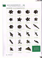 decorative wrought iron art stamping products