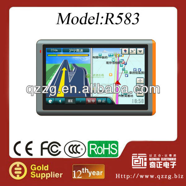 "GPS navigation system bluetooth reverse camera 4.3""(4.3inch) 5""(5inch) 7""(7inch) car GPS Navigation"