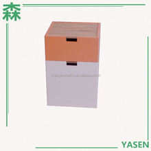 Yasen Houseware Diy combined wooden cube Corner Drawer Cabinet Furniture