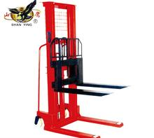 New condition manual hydraulic stacker with forklift