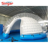 Good quality PVC TPU inflatable tent china manufacture,inflatable military tent,inflatable bubble tent for rent