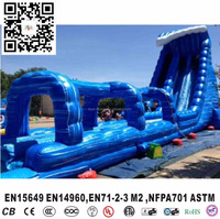 cheap commercial grade inflatable water slides for sale adults