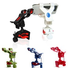 colorful universal cell phone holder smart phone handlebar mount for bike scooter