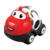 Amazon hot seller cute soft rubber cartoon free wheel toy vehicle sliding car