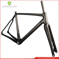 warranty 2 years T700 full carbon fiber cyclo cross bicycle frame frame chinese carbon bike frame