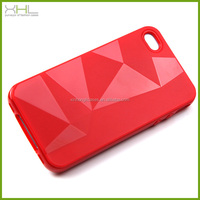 2014 new 3d diamond tpu phone case for iphone 5s