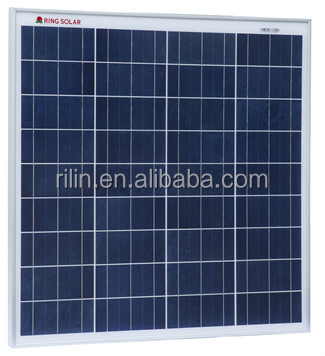 60W Poly Solar panel 18V for home use with very competitive price