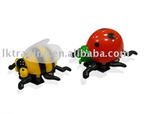 Cheap price pull back beetle insect animal toy