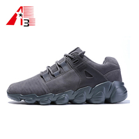 Fashionable shoes for walking high quality suede outdoor sport shoes sneaker