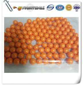 0.68'' Colourful dye paintball balls / Paintball in China