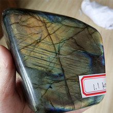 Wholesale Natural Labradorite Stone Crystal Ornament Home Decoration pieces