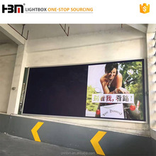 Guangzhou supplier front opening snap frame led backlit advertising light box with fabric poster