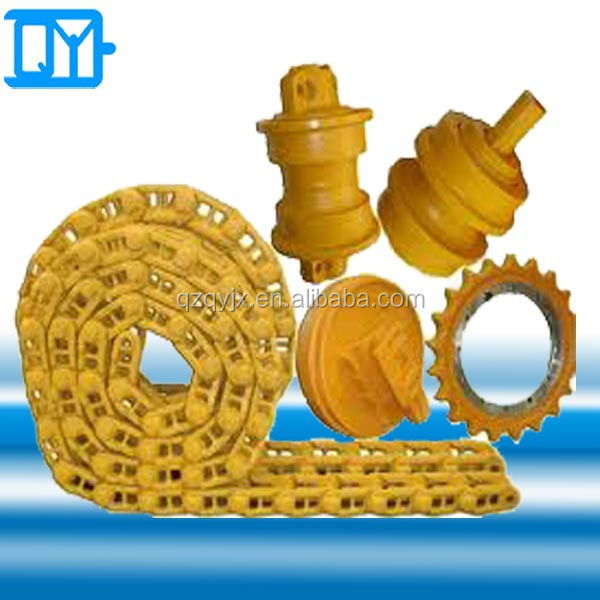 Construction Equipment Excavator & Bulldozer undercarriage parts