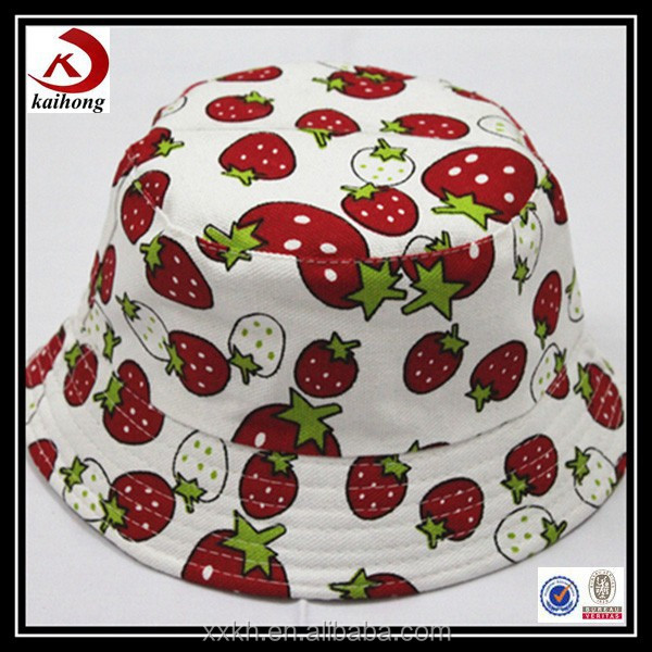 wholesale Red Printing Cheap charles and keith Bucket Hat