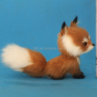 lovely sale creative plush toy animal fur cover plastic forest animal